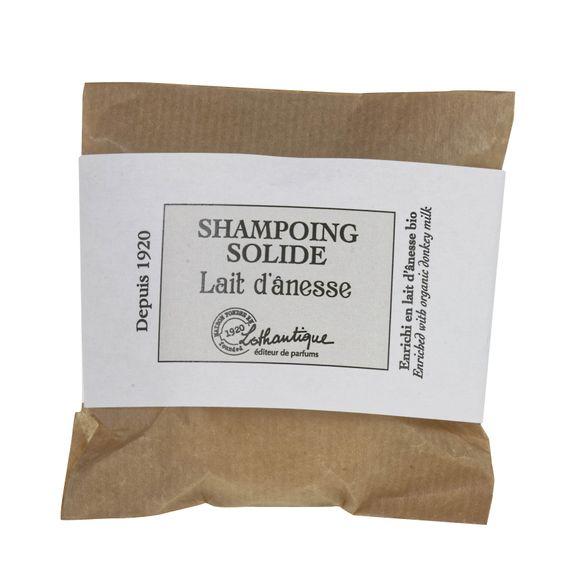 Shampoing solide au lait d'anesse 75g pour cheveux normaux