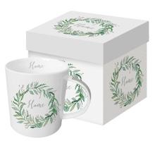 Achat en ligne Coffret tasse avec poignée Home en porcelaine 35cl