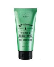 Achat en ligne Shampoing cheveux et douche vétiver et bois de santal tube 200ml