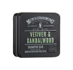 Achat en ligne Shampoing solide en boite métal 100g vétiver et bois de santal
