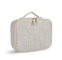 Achat en ligne Vanity case en coton recyclé beige 22 x 16 x 9 cm