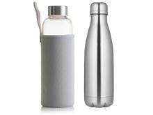 Achat en ligne Coffret Eco bouteille isotherme inox