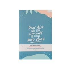Achat en ligne Set de 2 cahiers A5 - Il me suffit de suivre mes rêves