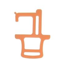 Achat en ligne Crochet antibactérien orange