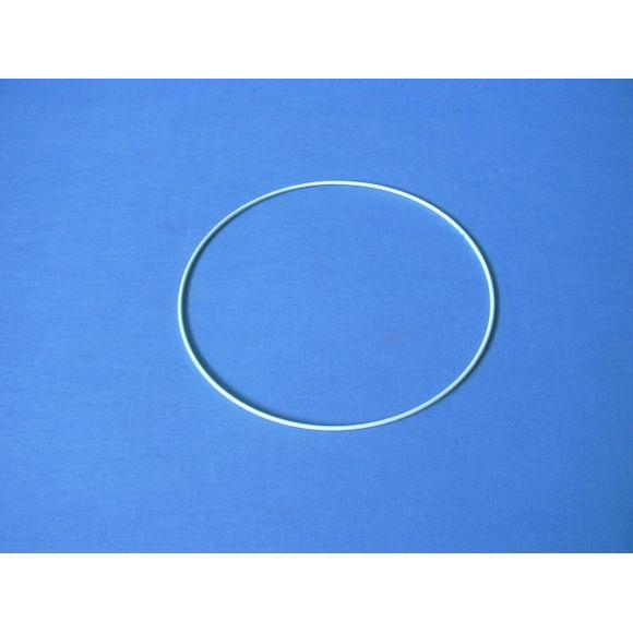 Cercle nu blanc Rilsan de diamètre 12cm