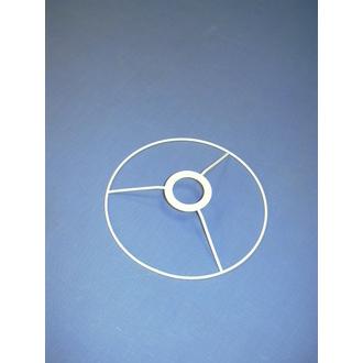 Cercle bagué blanc de diamètre 15cm