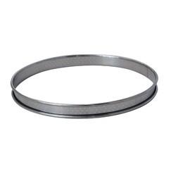 acquista online Cerchio per torta inox perforato bordo arrotondato Ø22cm