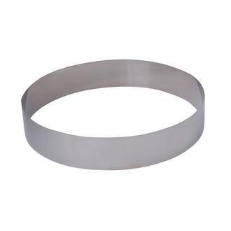 DE BUYER - Cercle à pâtisserie en inox Collectivité 20cm