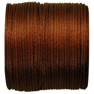 SANTEX - Bobine de ruban queue de rat chocolat 25 M