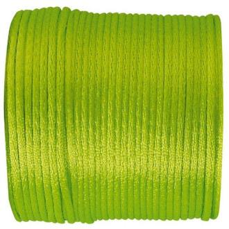 SANTEX - Bobine de ruban queue de rat vert anis 25 M
