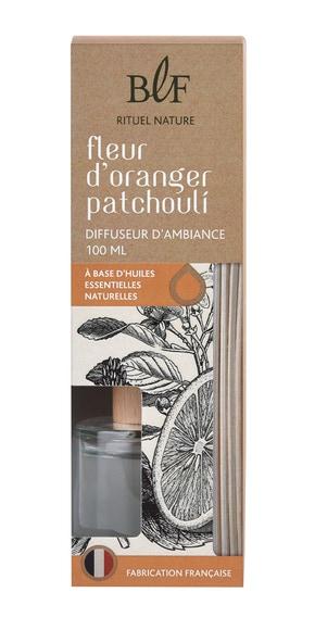 Achat en ligne  Bouquet parfumé fleur d'oranger Patchouli 100 ml