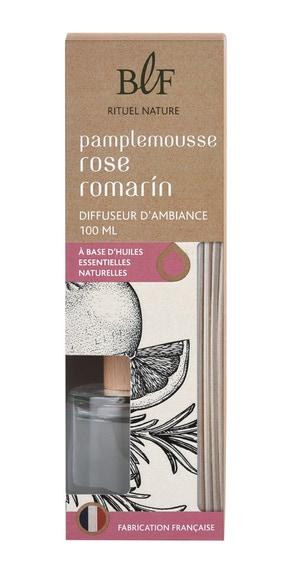 Achat en ligne Bouquet parfumé pamplemousse rose romarin 100ml