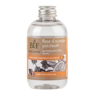 BOUGIES LA FRANCAISE  - Rech bqt parf fleur d'oranger patchouli 100ml