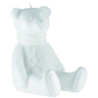Bougie gaston l'ourson blanc