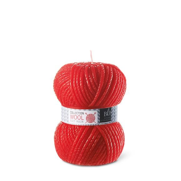 Bougie pelote PM rouge