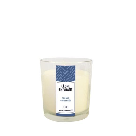 Bougie parfumée cèdre enivrant 160g