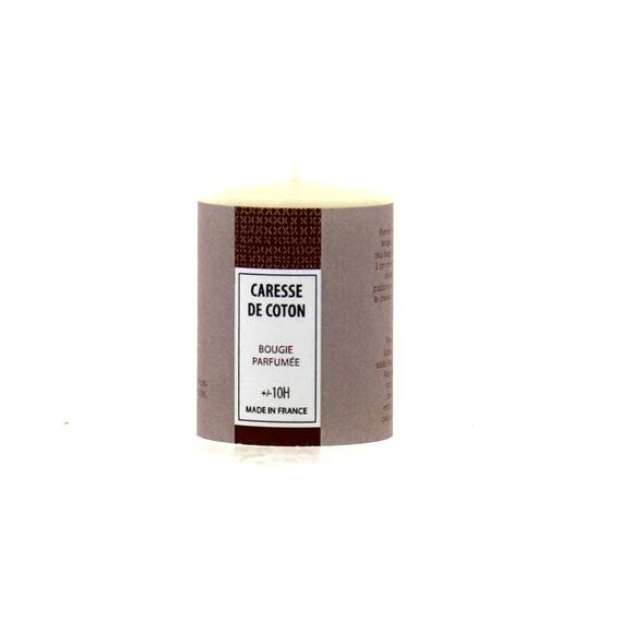 Achat en ligne Bougie parfumée caresse de coton 51g