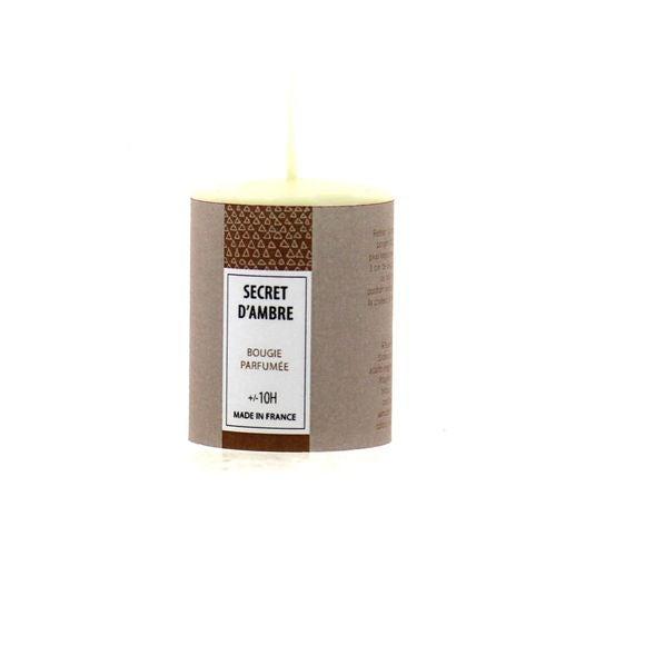 Bougie parfumée secret d'ambre 51g