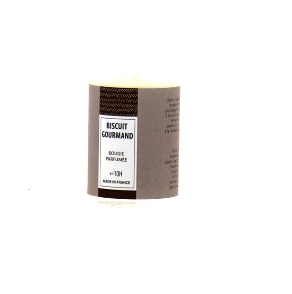 Achat en ligne Bougie parfumée biscuit gourmand 51g