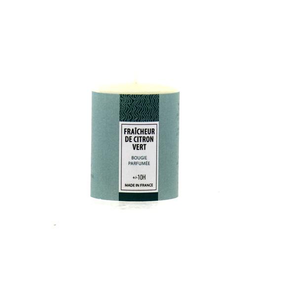 Achat en ligne Bougie parfumée fraicheur de citron vert 51g