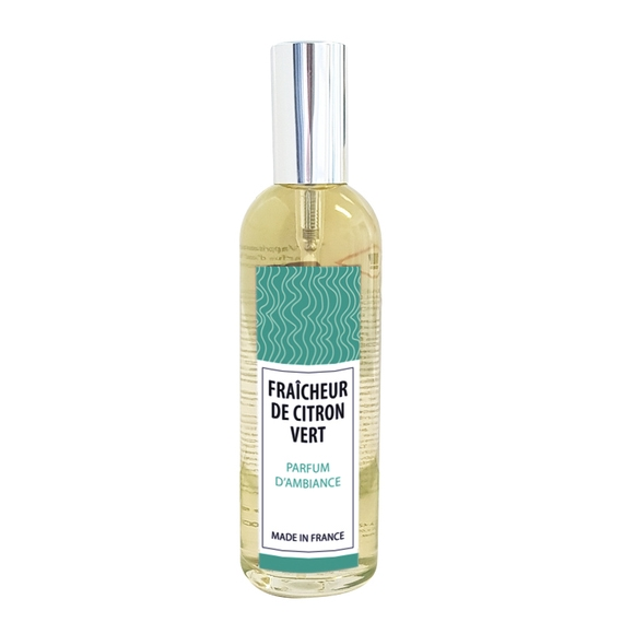 Achat en ligne Parfum d'ambiance fraicheur de citron vert 100ml