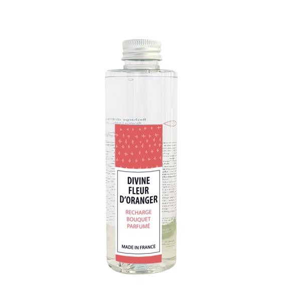 Achat en ligne Recharge bouquet parfumé divine fleur d'oranger 200ml