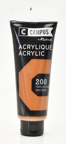 Achat en ligne Peinture acrylique terre sienne en tube 100 ml