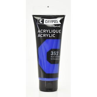Peinture acrylique bleu outremer en tube 100 ml