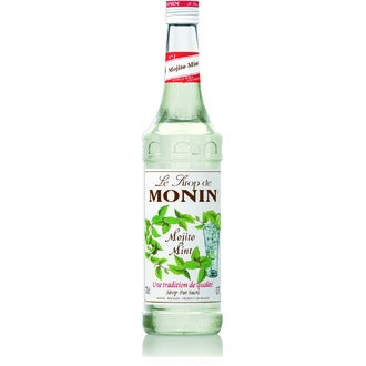 MONIN - Sirop de mojito mint en bouteille 70cl