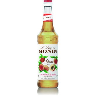 Monin - sirop pêche 70 cl