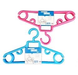 compra en línea Set de de 3 perchas antideslizantes para niños azules y rosas