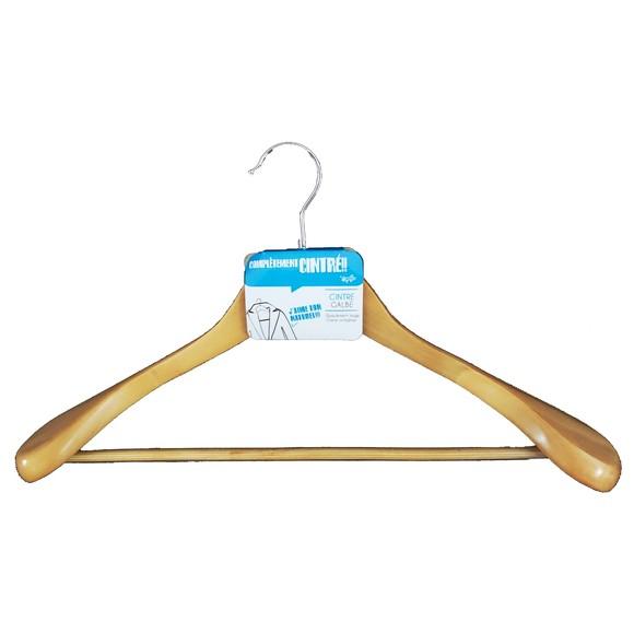 Achat en ligne Cintre pour épaules larges antiglisse en bois