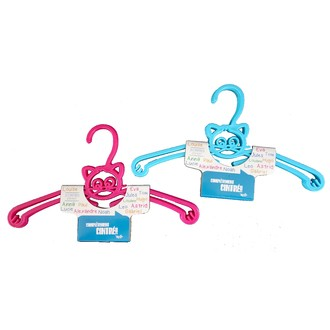 Set de 3 cintres enfant en forme de chat