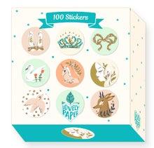 Achat en ligne Boite de 100 stickers Lucille
