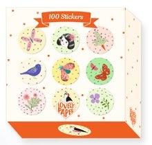 Achat en ligne Boite de 100 stickers Chichi