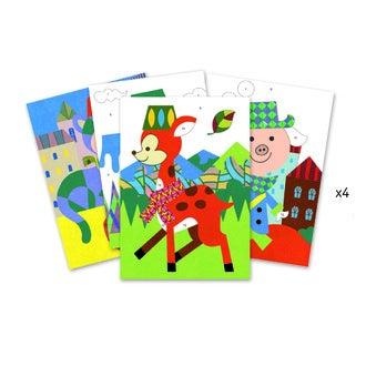 DJECO - Sables colorés panda et ses copains