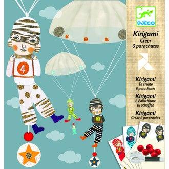 DJECO - Kit 6 kirigami équipe des garçons