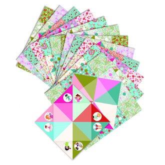 DJECO - Coffret d'origami cocottes à cages