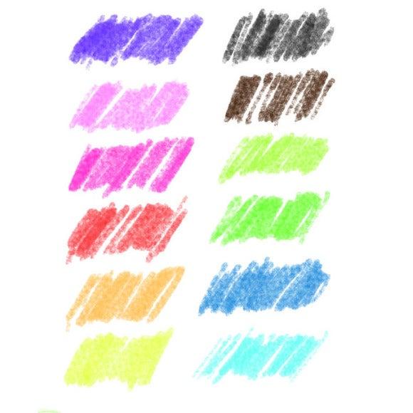Set de 10 crayons de couleurs aquarellables classique