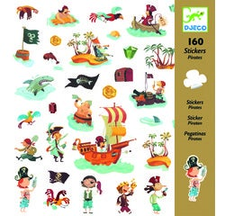 Achat en ligne 160 mini-stickers pirates