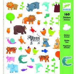 Achat en ligne 160 mini-stickers animaux