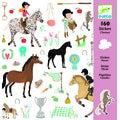 Mini-stickers les chevaux