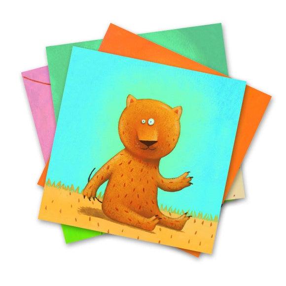 Achat en ligne Kit des animaux avec des stickers