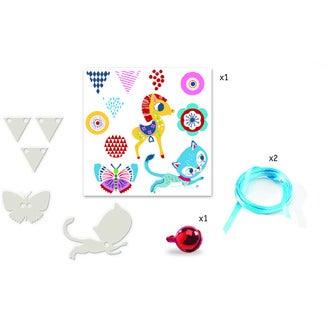 DJECO - Kit plastique magique chaton et poney