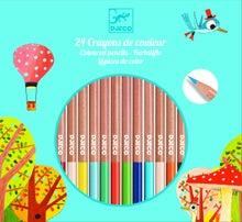 Achat en ligne Set de 24 crayons de couleur