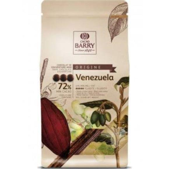 Achat en ligne Chocolat de couverture noir de Venezuela en pistoles 1kg