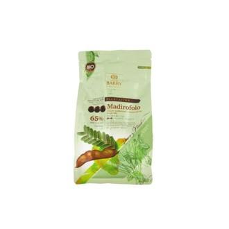 BARRY - Chocolat bio de couverture noir de Madirofolo en sachet 1kg