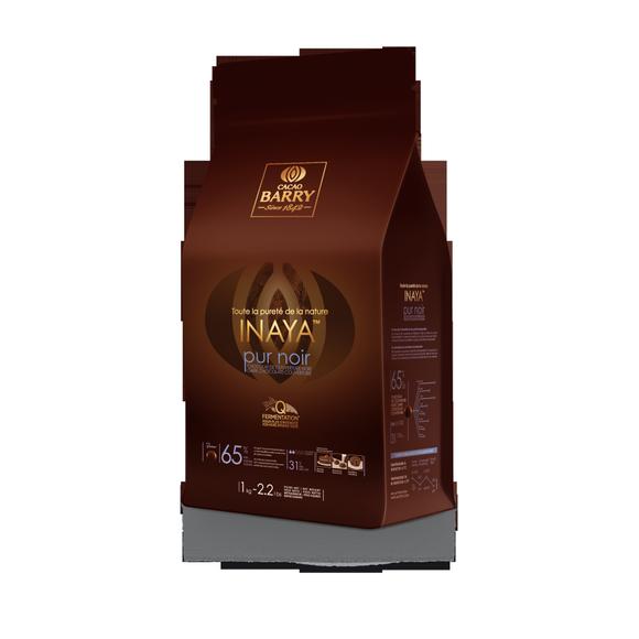 Chocolat de couverture noir Inaya en pistoles 1kg