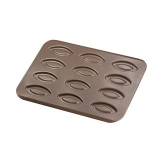 GOBEL - Plaque de cuisson antiadhérent pour 12 barquettes