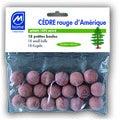 18 petites boules antimites
